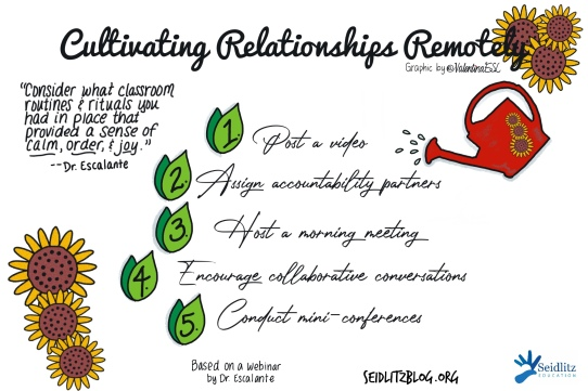 Cultivating Student Relationships Remoely